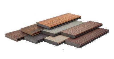 Trex Composite Decking Board Samples
