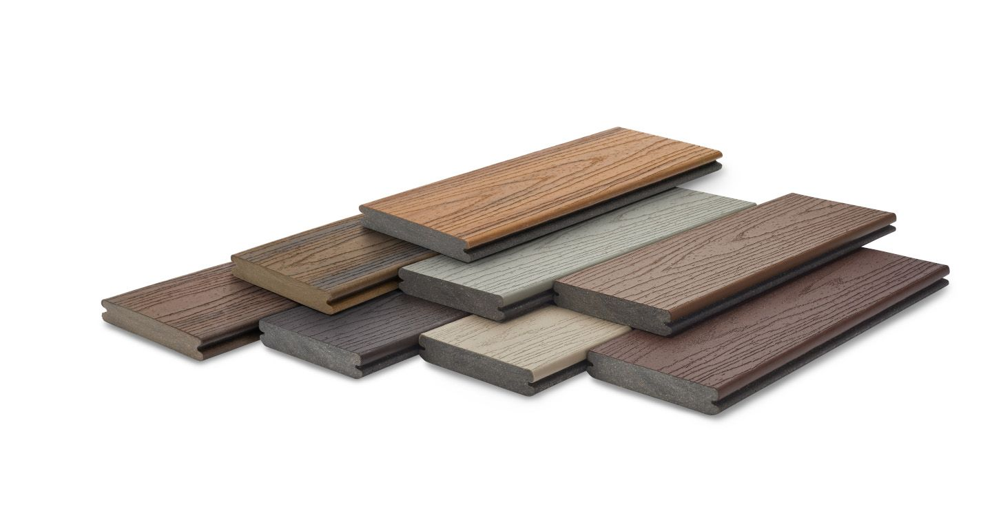 Trex Composite Decking Board Samples