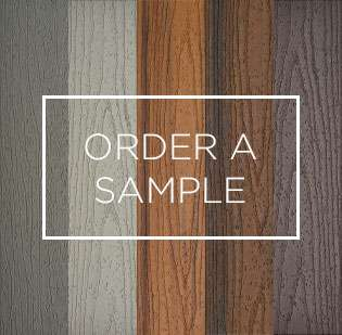 Order a sample of Trex composite decking in a wide variety of colors