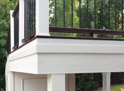Trex Fascia Gives A Finished Look To Deck Edges