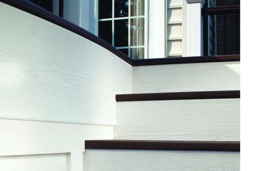 universal fascia white stair
