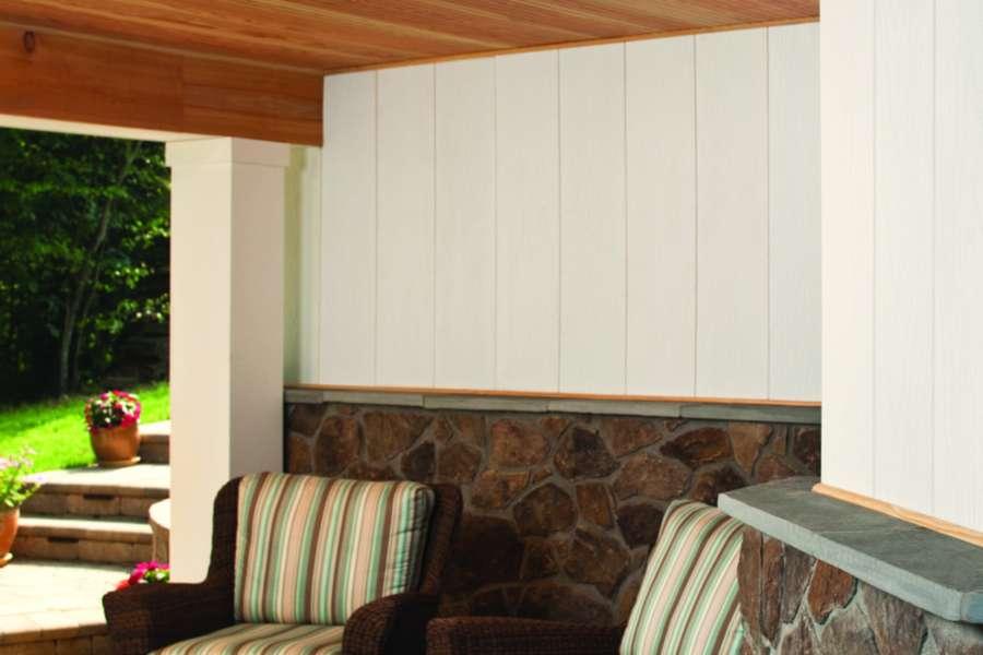 universal fascia white wall interior